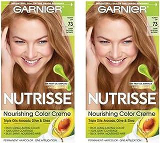 Garnier Nutrisse Haircolor, 73 Dark Golden Blonde 1 ea (Pack of 2)