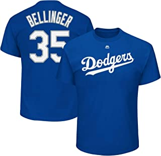 Cody Bellinger Los Angeles Dodgers #35 Blue Youth Name and Number Jersey T-Shirt