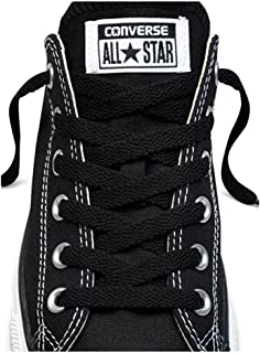 black converse with green laces