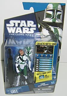 Hasbro Star Wars 2010 Clone Wars Animated Action Figure CW No. 21 Commander Gree