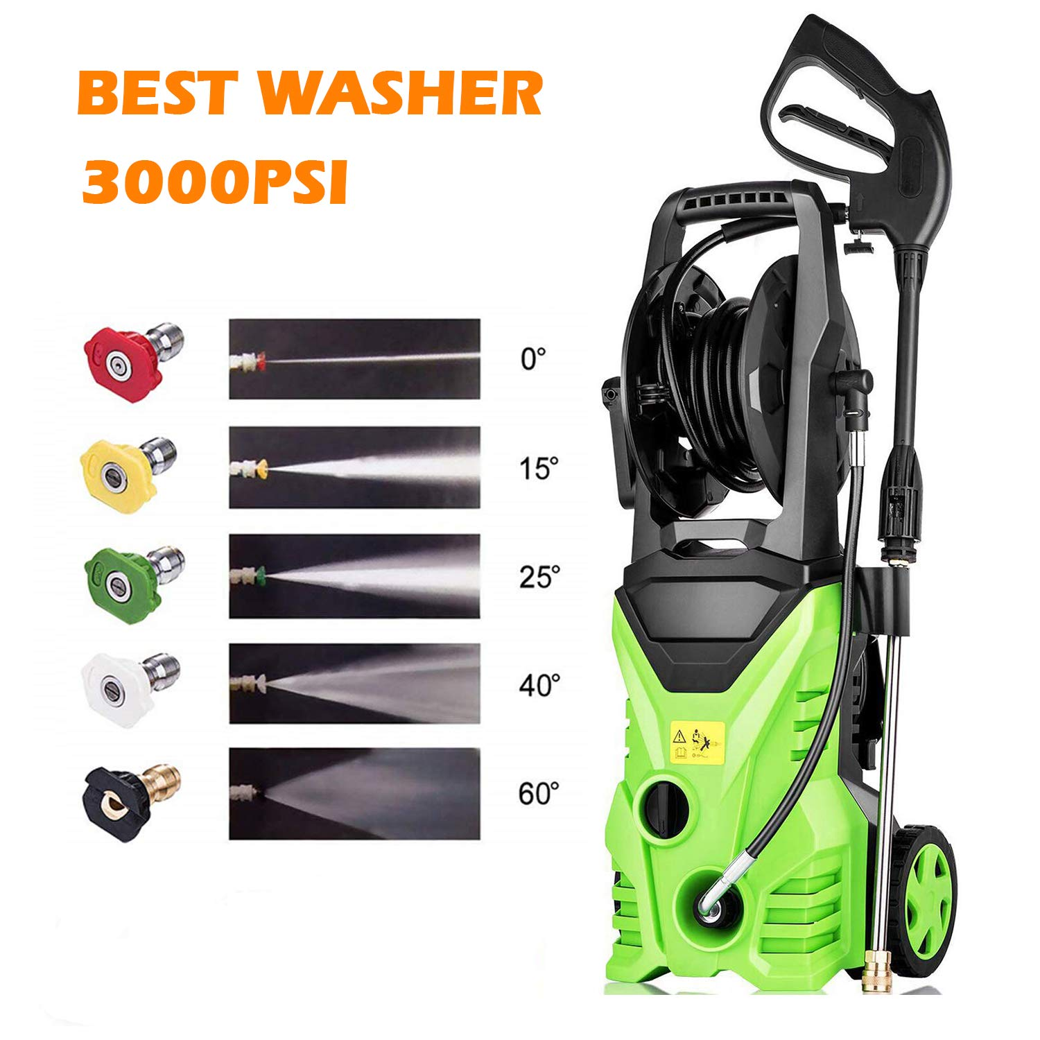 Homdox Electric Pressure Washer Quick Connect