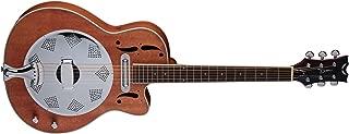 Dean Resonator Cutaway/Electric Natural Mahogany Guitar