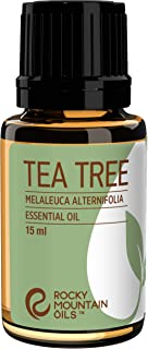 Rocky Mountain Oils Tea Tree Essential Oil - 100% Pure and Natural Oils for Aromatherapy Diffuser, Topical, and Home - Nai...