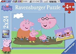 Ravensburger Peppa Pig Happy Family Life 2 x 24 Pieces 09082