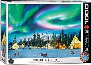 Eurographics EG60005435 Northern Lights - Yellowknife Jigsaw Puzzle, Various, 1000