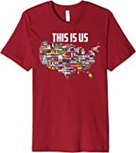 This Is US Shirt International Flags Citizens Immigrant Gift