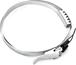 POWERTEC 71216 Band Clamp for Dust Collector, 23-1/2-Inch to 24-3/16-Inch (600mm)