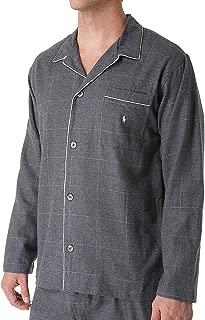 Mens Flannel Plaid Button-Down Shirt