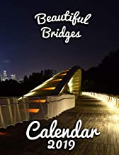 Beautiful Bridges Calendar 2019: Full-Color Portrait-Style Desk Calendar [Idioma Inglés]