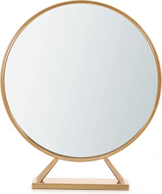 Amazon Com Distressed White And Natural Wood 30 Quot Round