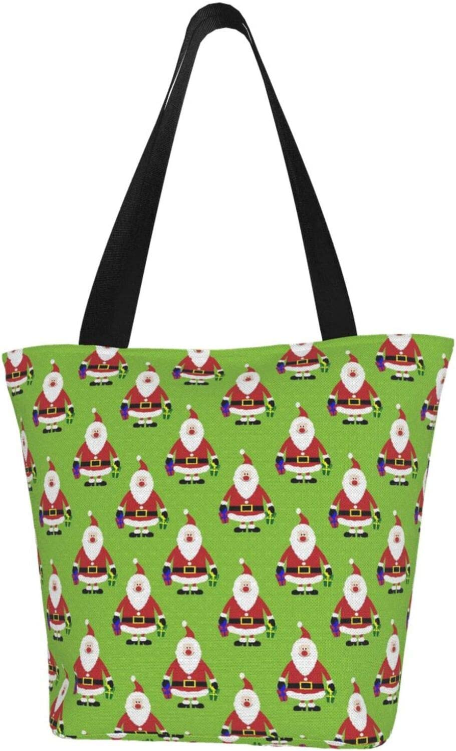 AKLID Max Oakland Mall 90% OFF Christmas Santa Cute Extra Water Resistant To Canvas Large