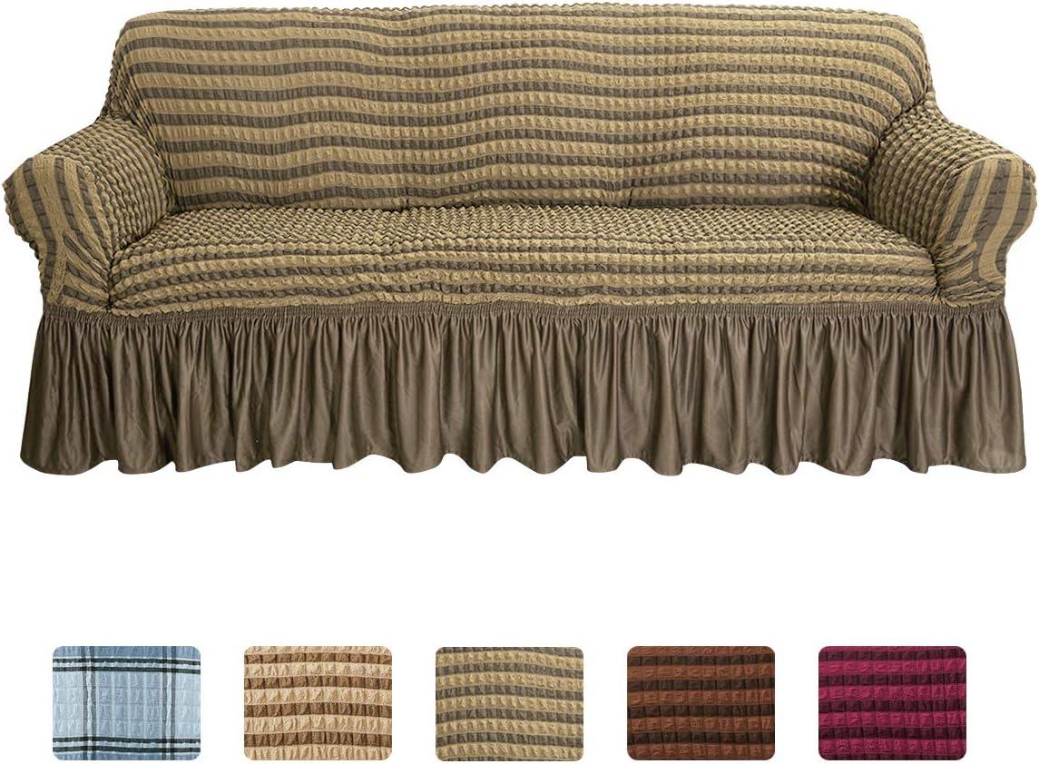 Boshen 3D Bubble Lattice Elegant Cov Loveseat Max 62% OFF Sofa service Stretch Cover