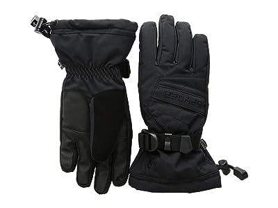 Spyder Kids Overweb Ski Gloves (Little Kids/Big Kids) (Black/Black) Ski Gloves