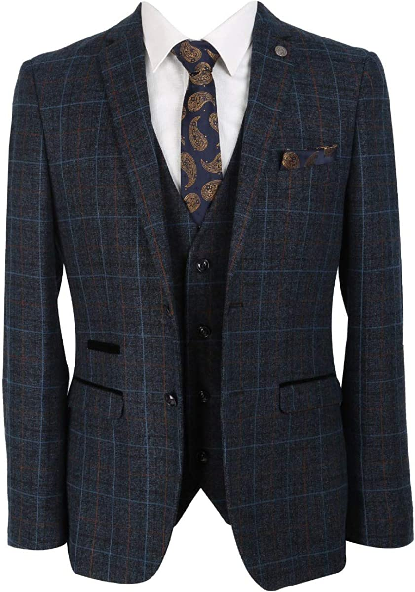 Designer Mens Boys Ranking TOP7 Classic Retro Check Arlington Mall Sets Tweed Suit