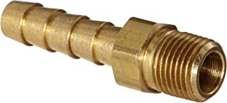 Anderson Metals 57001-0402 Brass Hose Fitting, Adapter, 1/4