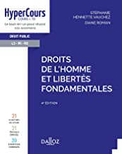 Livres Droits de l'Homme et libertés fondamentales - 4e ed. PDF