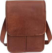 Vintage Leather Messenger Bag 13