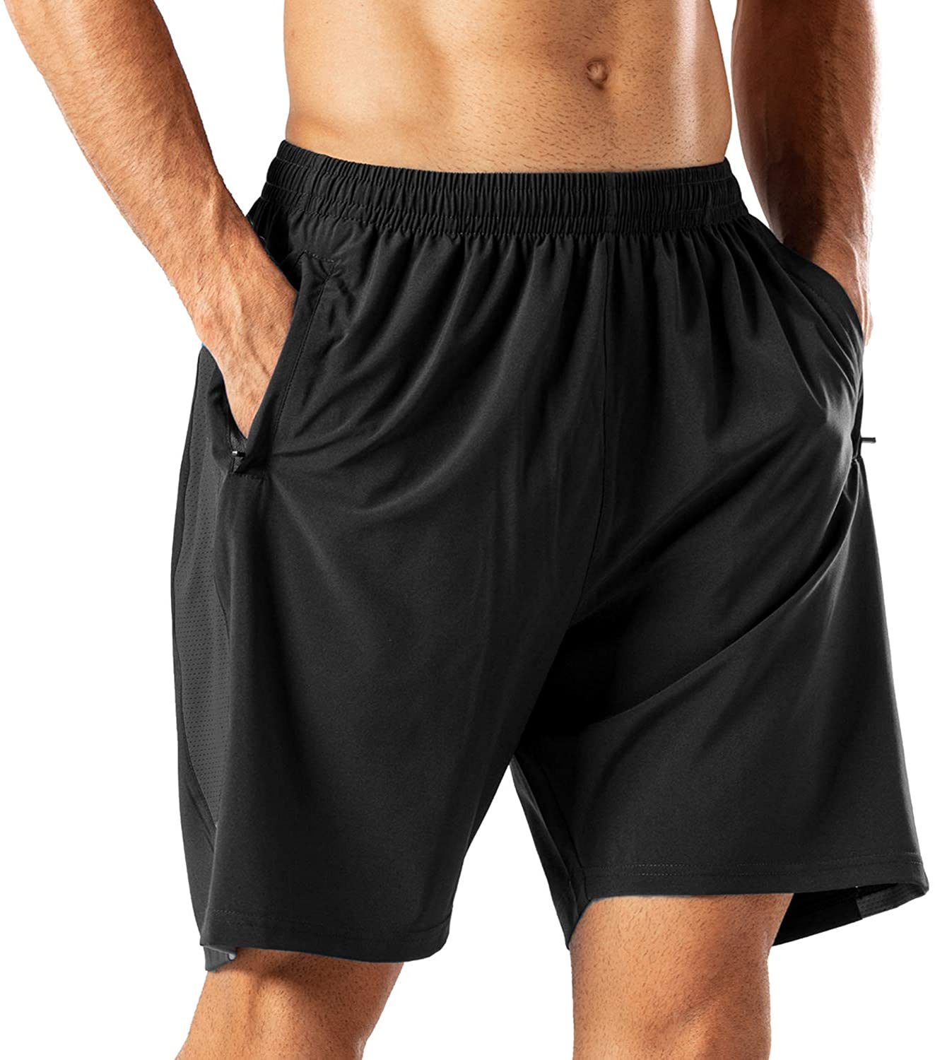 HMIYA Men's Casual Sports Quick Dry Workout Running or Gym Train