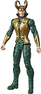 "Avengers Marvel Titan Hero Series Blast Gear Loki Action Figure, 12"" Toy, Inspired by The Marvel Universe, for Kids Ages 4 & Up"