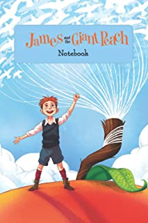 James And The Giant Peach Notebook: Notebook Journal  Diary/ Lined - Size 6x9 Inches 100 Pages