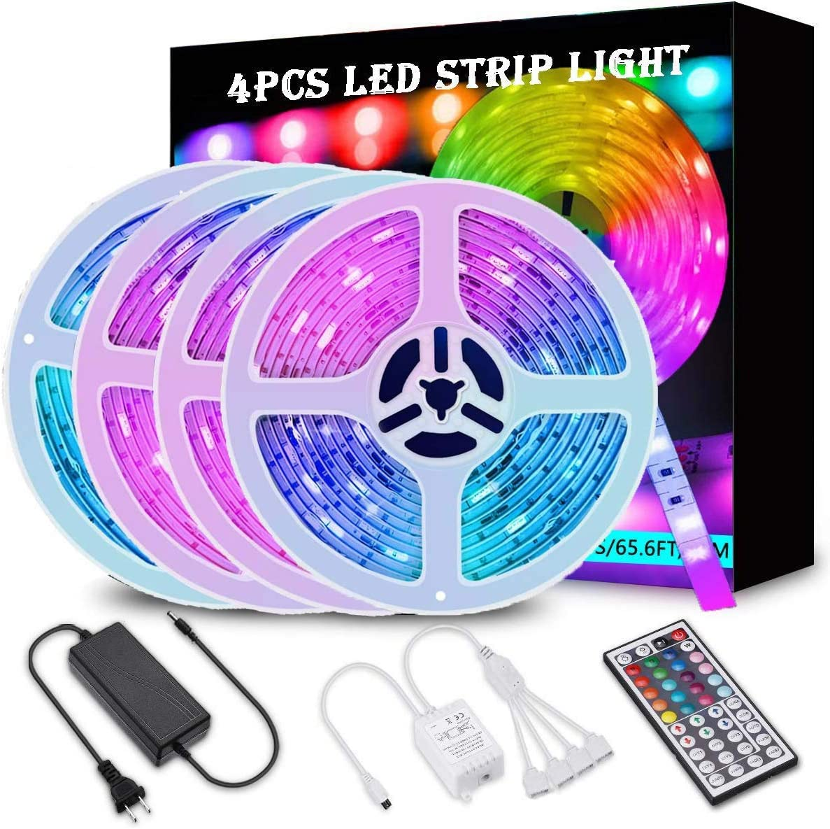 LucaBOS 66ft 20M LED Strip Lights L with Sales of SALE items from new works Kit RGB 600 Al sold out.