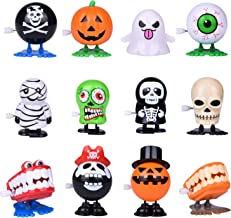 Wind Up Toys 12 PCs Assorted Halloween Toys for Kids, Halloween Party Favors Goodie Bag Fillers