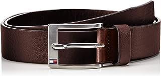 Tommy Hilfiger Men's New Aly Belt, Brown (Dark Tan), 85