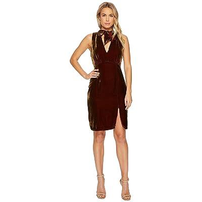 Adelyn Rae Elle Dress (Chestnut) Women