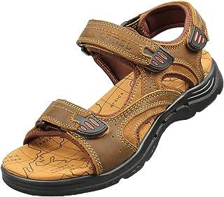 Genda 2Archer Men's Summer Casual Double-Strap Open-Toe Beach Sandal