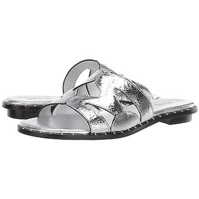 MICHAEL Michael Kors Annalee Slide (Silver) Women