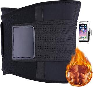 AISITIN Faja Reductora Mujer Faja Reductora Adelgazante Trimmer de Cintura Neopreno Cinturón de Sudor Cinturón de Fitness para acelerar la pérdida de Peso Quema de Grasa Efecto Sauna para Hombre y Mujer Cintura Entrenador