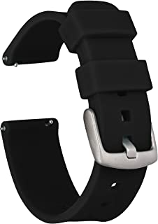 GadgetWraps 16mm Silicone Watch Band Strap with Quick Release Pins – Compatible with Fossil, Skagen, Misfit - 16mm Quick R...