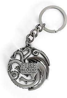 Metal Metall Schlüsselanhänger Keyring Targaryen 4,5x6 cm Game of Thrones