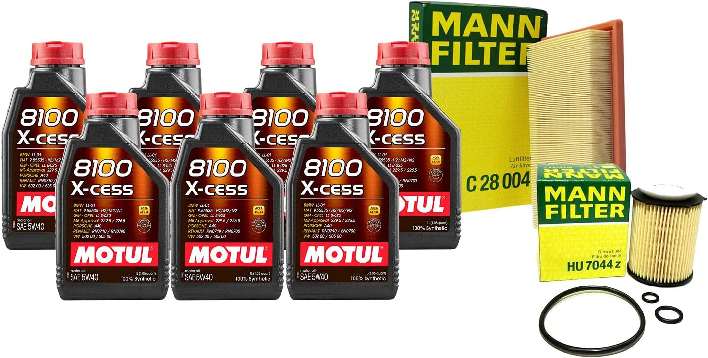 7L 8100 X-CESS 5W40 Filter Motor 2021 spring and summer new Air Change Oil C300 2. W205 kit Japan's largest assortment