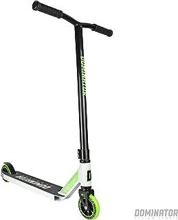Dominator Ranger Pro Scooter - Stunt Scooter - Trick Scooter (Black/White)
