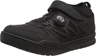 O'Neal Session SPD Pedal Fahrrad Schuhe Sneaker MTB BMX DH FR All Mountain Bike Downhill Sport,323, Farbe Schwarz, Größe 39