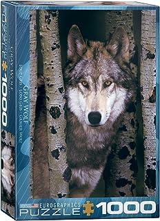 Eurographics 1000pcs - Gray Wolf