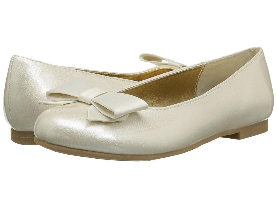 Nina Kids Pegasus (Little Kid/Big Kid) (Ivory Patent/Satin) Girls Shoes