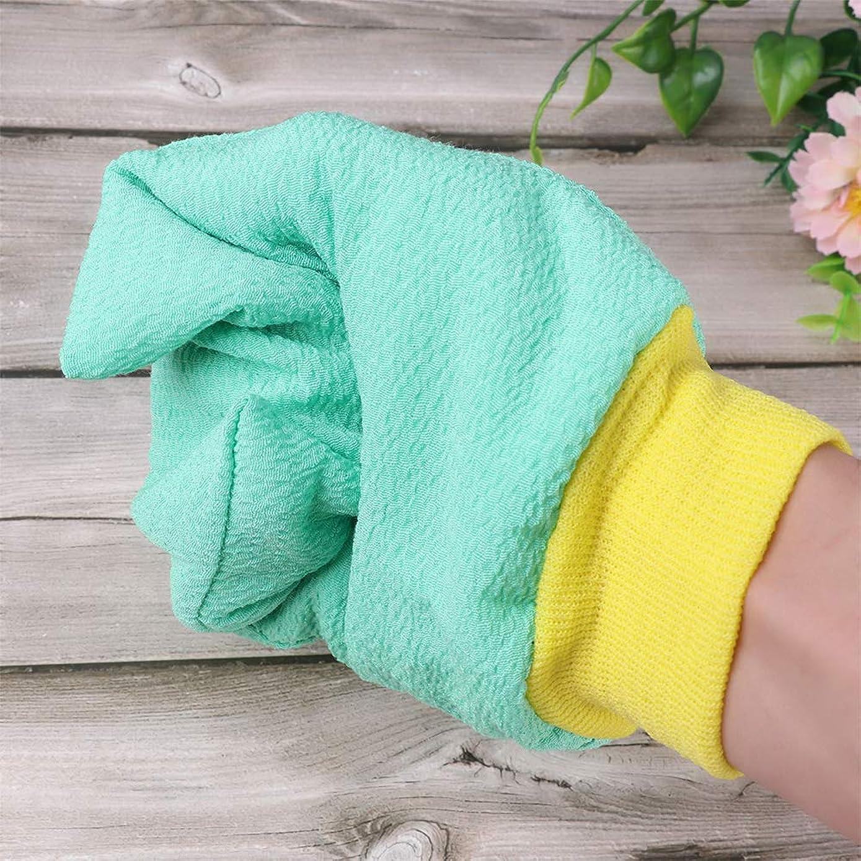 娘一時停止に付けるBYWWANG 1両面肥厚入浴用手袋スクラブ手袋シャワーシャワー除染男性と女性