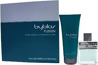 Byblos Fusion by Byblos for Men 2 Pc Gift Set 100ml Eau de Parfum Spray 200ml Shower Gel 2Count