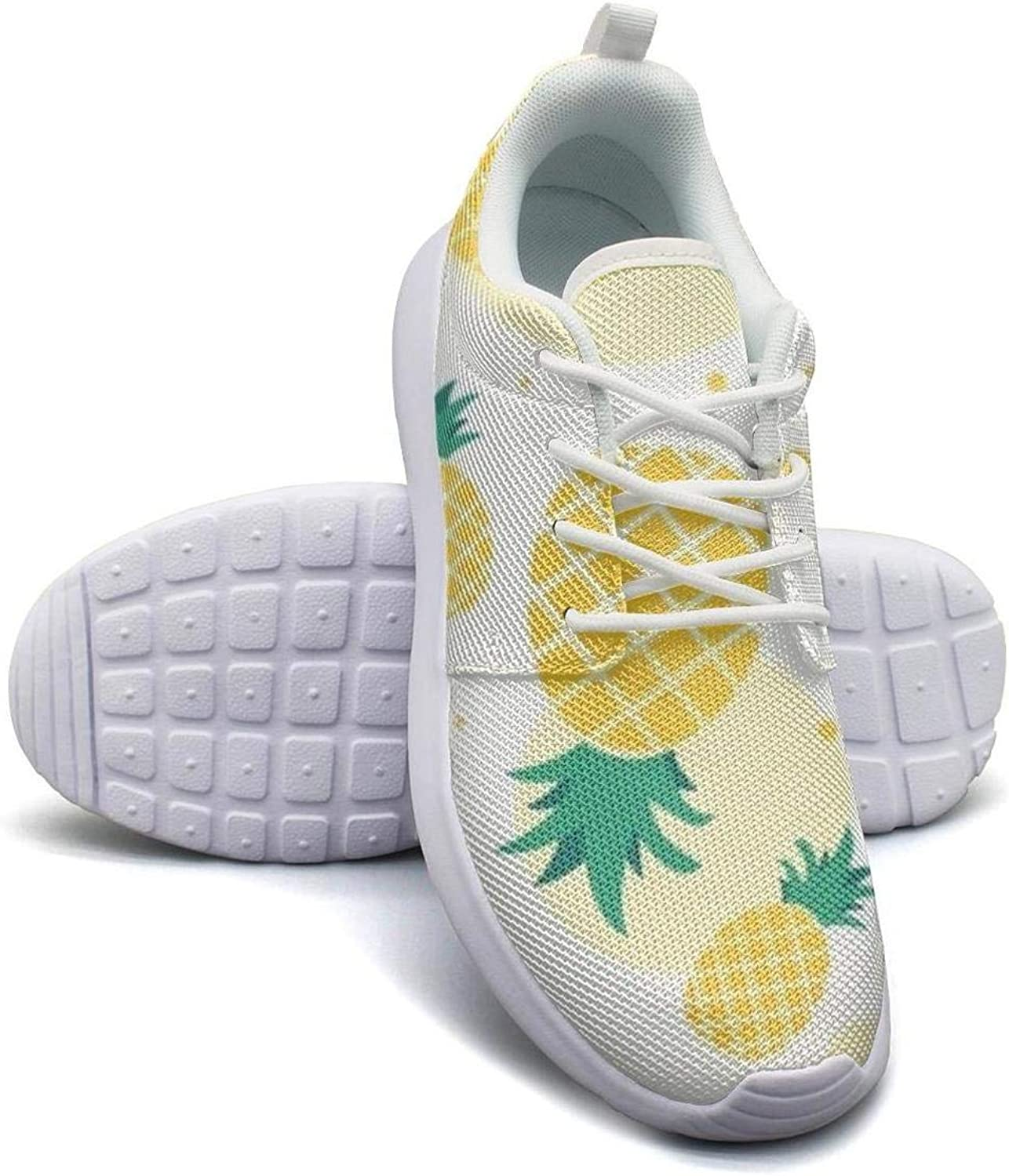 Kanf saysfg Pineapple Flamingo Fashion Running Sneakers for Women Lightweight Breathabl Balls shoes