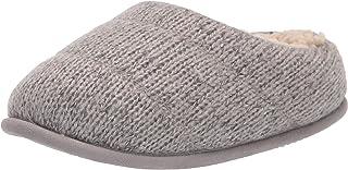 Dearfoams Alicia Ragg Knit Clog womens Slipper