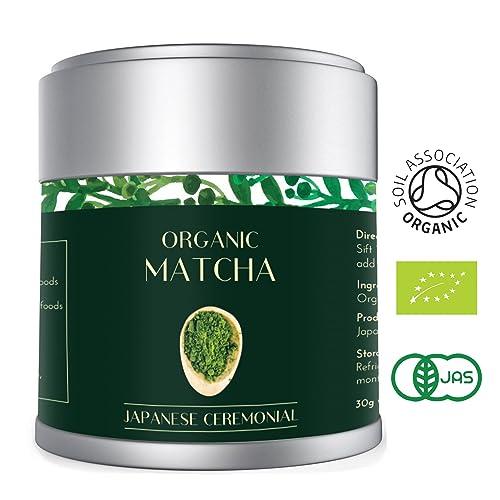 Té Verde Matcha - Orgánico 30g | Premio Ceremonial Japonés | Bio Orgánico certificado por JAS