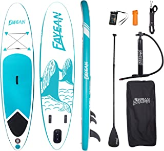 FAYEAN Stand Up Paddle Board 10'x28 x6 Round Board Include Hand Pump, Paddle, Backpack, Coil Leash,Carry Bag, Repair Kit a...