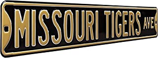 NCAA College Metal Wall Décor- Large, Heavy Duty Steel Street Sign by Authentic Street Signs