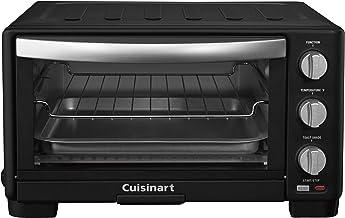 "Cuisinart TOB-1010MB Broiler Toaster Oven, 15.86""(L) x 11.77""(W) x 7.87""(H), Matte Black"