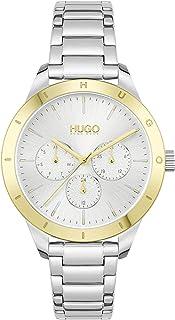 HUGO BOSS FRIEND WOMEN's SILVER DIAL WATCH - 1540090