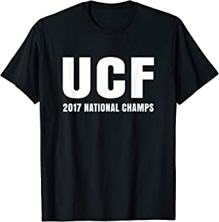 Cool Distressed UCF 2017 National Champs T-Shirt