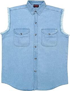 MILWAUKEE PERFORMANCE Men's Denim Sleeveless Shirt