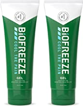 Biofreeze Pain Relief Gel, 4 oz. Tube, Pack of 2 (Packaging May Vary)